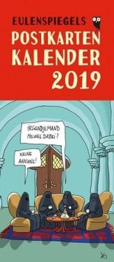 Eulenspiegels Postkartenkalender 2019