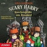Scary Harry - Knochengrüße aus Russland, 3 Audio-CDs