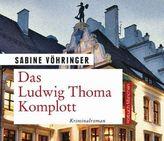 Das Ludwig Thoma Komplott, 8 Audio-CD