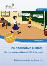 24 alternative Diktate, m. CD-ROM