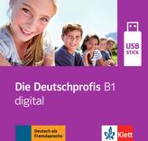 Die Deutschprofis B1 digital, USB-Stick