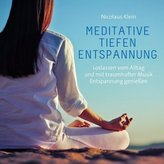 Meditative Tiefenentspannung, 1 Audio-CD