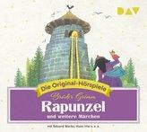 Rapunzel und weitere Märchen, 1 Audio-CD
