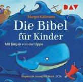 Die Bibel für Kinder (Sonderausgabe), 2 Audio-CDs