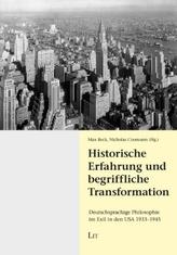 Historische Erfahrung und begriffliche Transformation