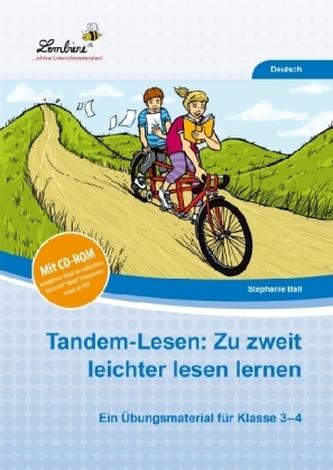 Tandem-Lesen: Zu zweit leichter lesen lernen für Klasse 3-4, m. CD-ROM