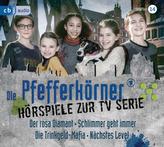 Die Pfefferkörner - Hörspiele zur TV Serie (Staffel 14), 2 Audio-CDs