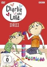 Charlie und Lola, DVD, deutsche u. englische Version. Tl.3