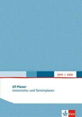 Unterrichts- und Terminplaner 2019/2020. Format A4