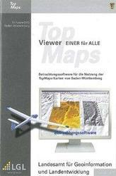Baden-Württemberg DVD-ROM TopMaps-Viewer Einer für Alle