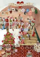 Adventskalender Weihnachtsstube