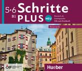 Schritte plus Neu 5+6 - Österreich / 4 Audio-CDs zum Kursbuch