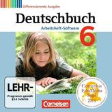 Deutschbuch 6. Schuljahr. Übungs-CD-ROM zum Arbeitsheft