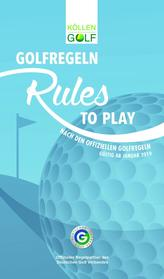 Golfregeln - Rules to play