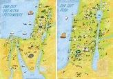 Wandkarten Altes Testament - Neues Testament