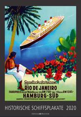 Historische Schiffsplakate 2020