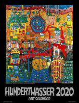 Hundertwasser Art Calendar 2020