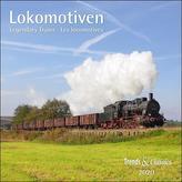 Lokomotiven Legendary Trains 2020 - Broschürenkalender - Wandkalender - mit herausnehmbarem Poster - Format 30 x 30 cm