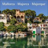 Mallorca Majorca 2020 - Broschürenkalender - Wandkalender - mit herausnehmbarem Poster