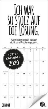 Funi Smart Art Notizkalender 2020