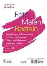 Foto-Malen-Basteln Bastelkalender A5 weiß 2020