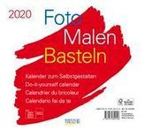 Foto-Malen-Basteln Bastelkalender quer weiß 2020
