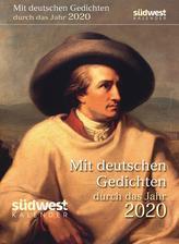 Mit deutschen Gedichten durch das Jahr 2020 Tagesabreißkalender