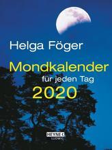 Mondkalender für jeden Tag 2020 Taschenkalender