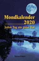 Mondkalender 2020 Taschenkalender