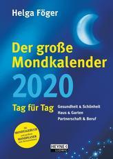 Der große Mondkalender 2020