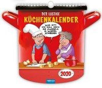 Der lustige Küchenkalender 2020