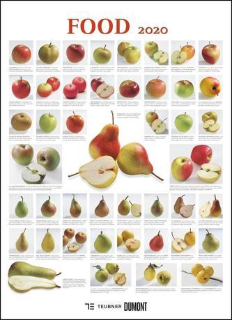 FOOD 2020 - Lebensmittel-Warenkunde - Küchen-Kalender von DUMONT- Poster-Format 49,5 x 68,5 cm