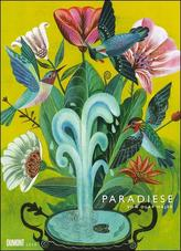 Olaf Hajek: Paradiese 2020 - DUMONT Kunst-Kalender - Poster-Format 49,5 x 68,5 cm
