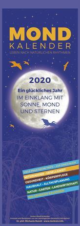 Mondkalender 2020 - Streifenkalender