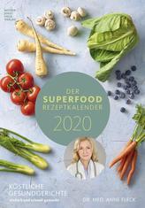 Der Superfood-Rezeptkalender 2020 - Rezeptkalender
