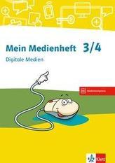 Digitale Medien. Arbeitsheft Klasse 3/4