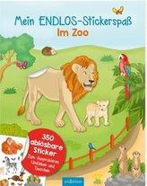 Mein Endlos-Stickerbuch Zoo