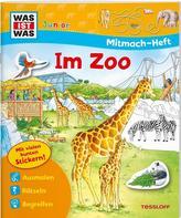 WAS IST WAS Junior Mitmach-Heft Zoo