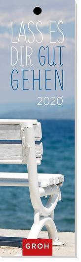 Lass es dir gut gehen 2020: Lesezeichenkalender