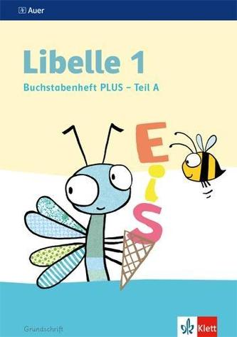 Libelle 1. Buchstabenheft PLUS, Grundschrift, 4-teilig Klasse 1