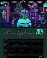 Auf Reisen Großer Monatsplaner 2020